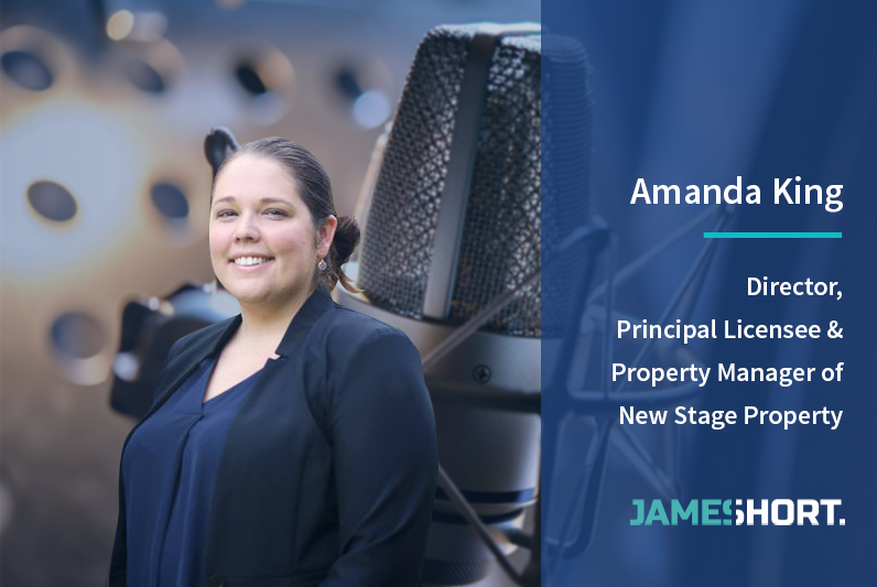 Amanda King – Director, Principal Licensee & Property Manager of New Stage Property