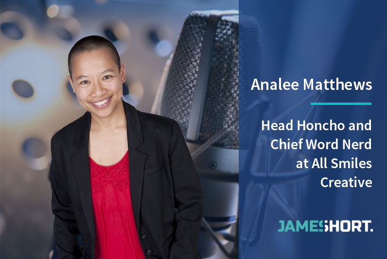 Analee Matthews – Head Honcho and Chief Word Nerd at All Smiles Creative